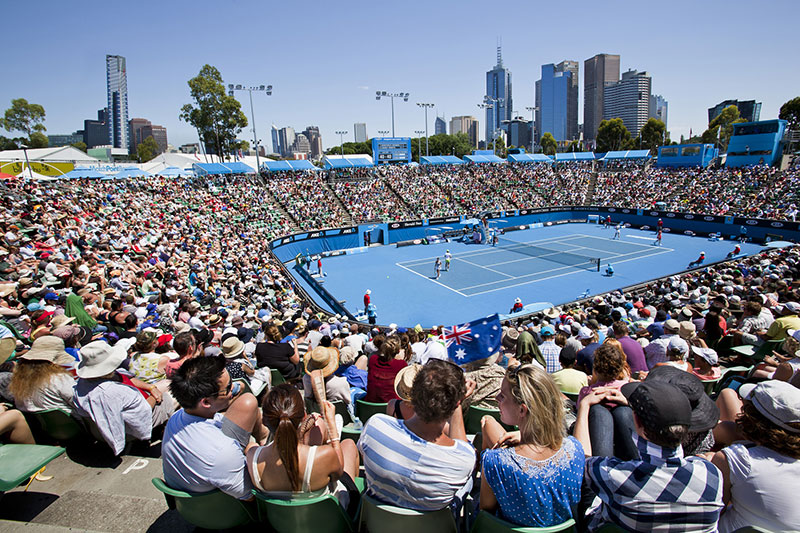 Melbourne Park Outdoor Court